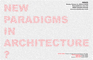New Paradigms in Architecture?