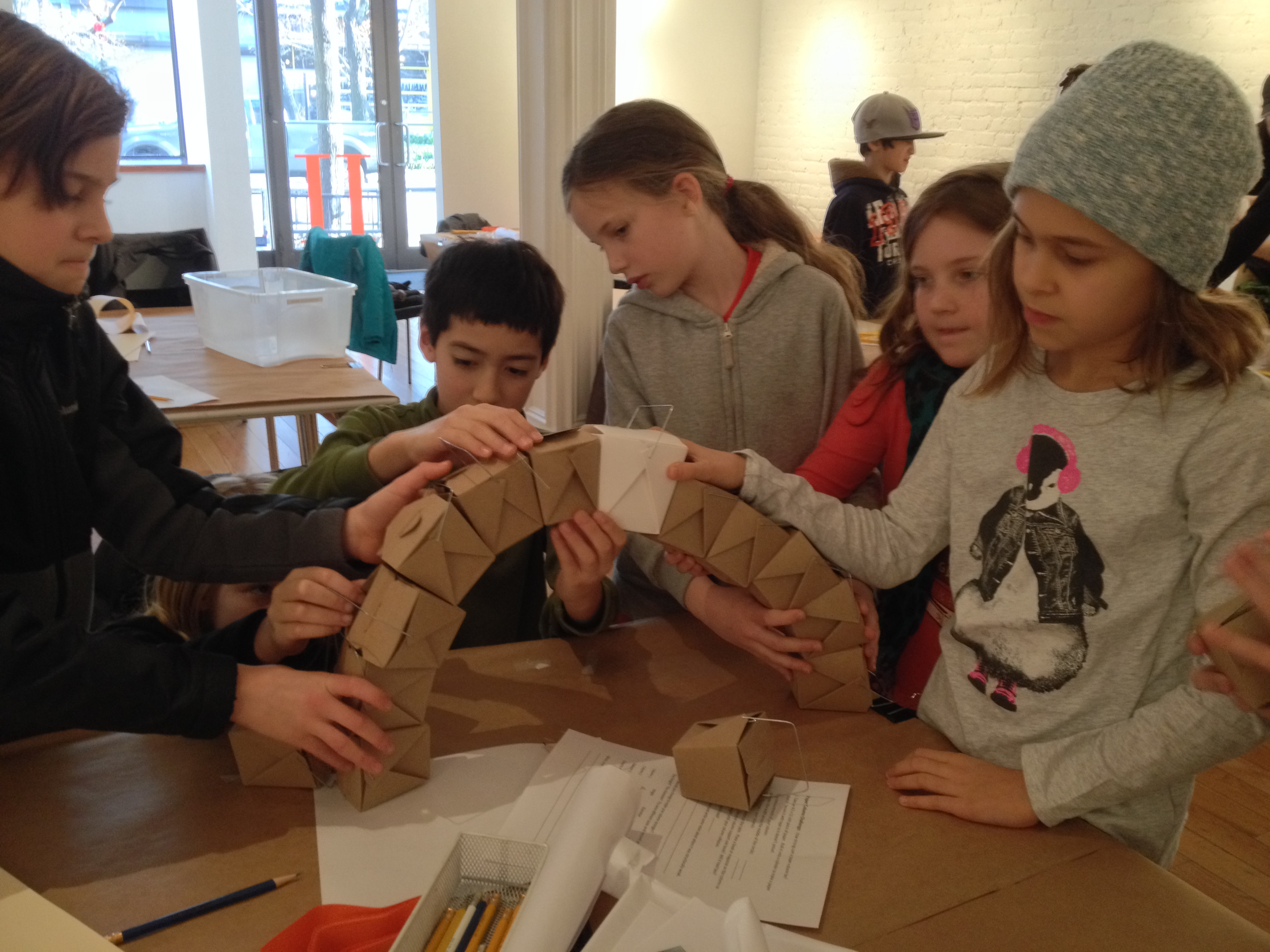 Home School Students Study Classical Greek and Roman Architecture and its Influence on Neoclassicism